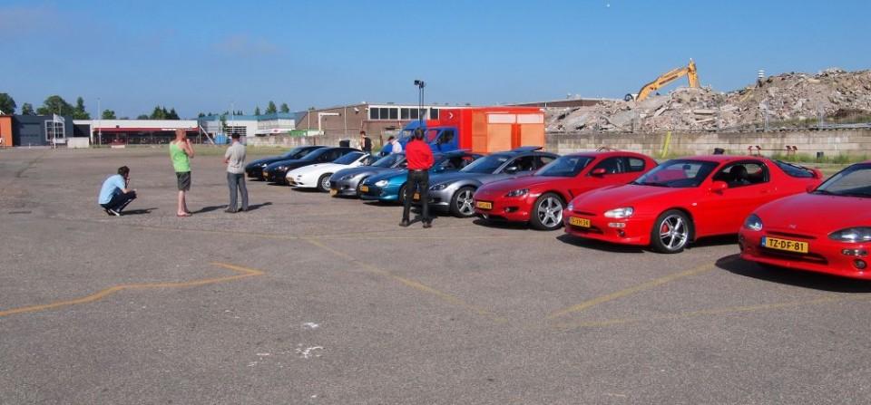 Mazda MX-3 meeting 2013